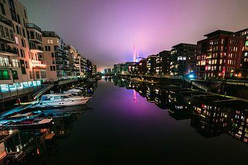 Frankfurt am Main Nachtaufnahme von domiphotography