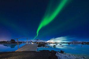 Blue Lagoon met Noorderlicht