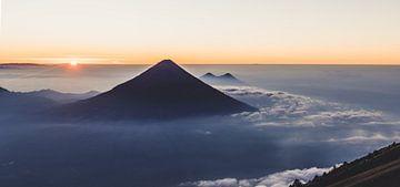 Vulkaan Agua van Kim van Dijk