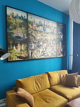 Kundenfoto: Der Garten der Lüste (Hieronymus Bosch - Triptychon)