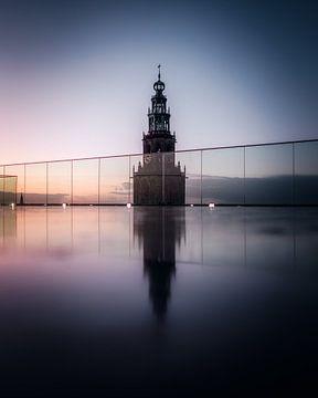 Martinitoren vanaf Forum Groningen van Harmen van der Vaart