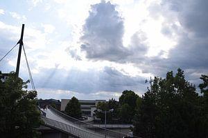 Fußgängerbrücke Koblenz Stadtmitte von Jeroen Franssen