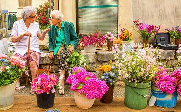 Blumen Mädchen von Peter Heins