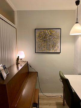 Kundenfoto: Komposition VII, Piet Mondriaan