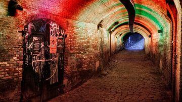 Middeleeuwse tunnel in Utrecht van