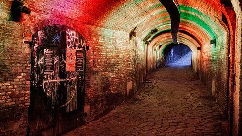 Middeleeuwse tunnel in Utrecht