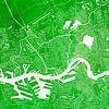 Rotterdam | Stadskaart Groen | Vierkant van - Wereldkaarten.shop - thumbnail