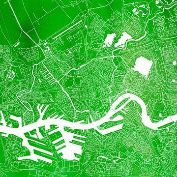 Rotterdam | Stadskaart Groen | Vierkant van