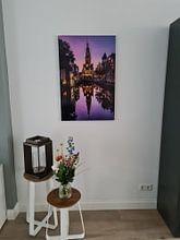 Kundenfoto: Die Herausforderung Turm von Dick Portegies, auf alu-dibond