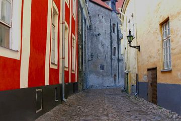 Rue à l'ancienne, Tallinn sur Inge Hogenbijl