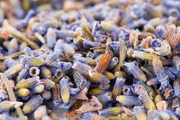 Gedroogde lavendel van Ivonne Wierink