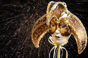 Venetiaans gouden masker