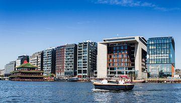 Skyline Amsterdam van Junk of Treasure