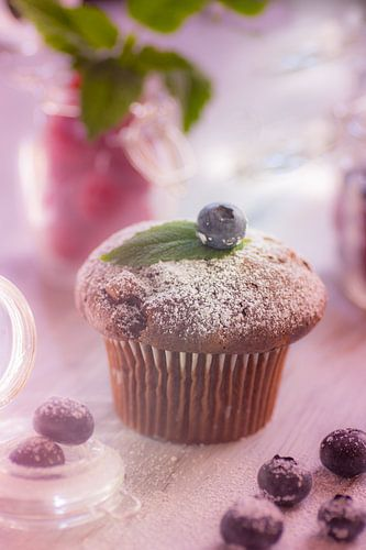 Feines Muffin Stillleben