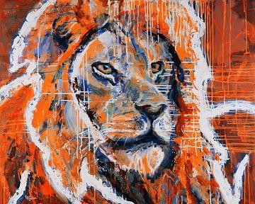 Oranje Leeuw EK Voetbal van ART Eva Maria