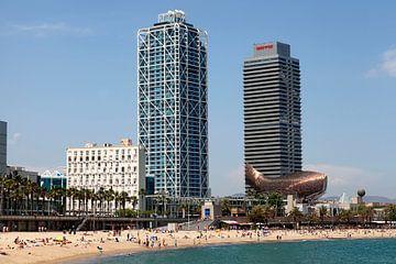 Passeig Marítim de la Barceloneta Beach van Brenda Reimers