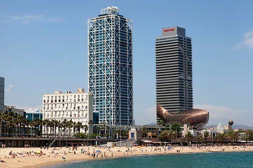 Passeig Marítim de la Barceloneta Beach van