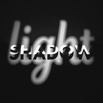 Licht und Schatten 2 grau von Jörg Hausmann