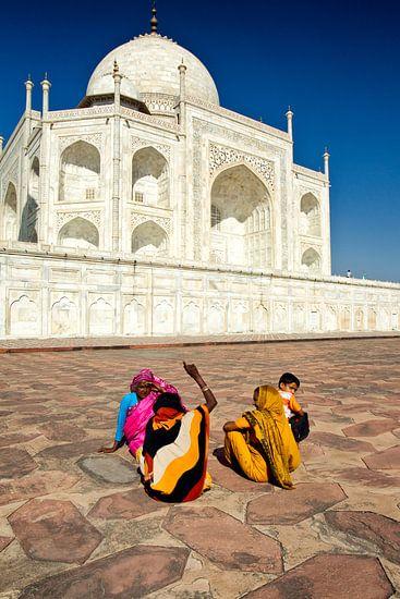 Taj Mahal van Paul Piebinga
