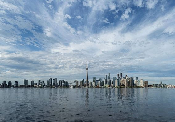 Toronto skyline van Bart Ceuppens