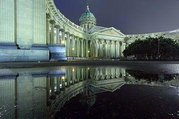 Kasaner Kathedrale St. Petersburg van Patrick Lohmüller