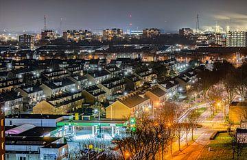 Nachtsicht Papendrecht von Michel Van Giersbergen