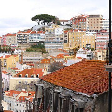 Lissabon van Berthilde van der Leij