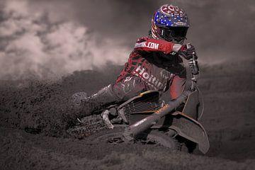 Motorcross  von Walter Kleeven