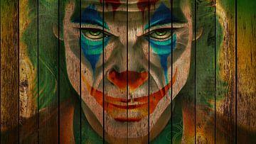 Joker van Rene Ladenius Digital Art