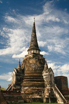 Wat Chaiwatthanaram in Ayutthaya, Thailand von Erwin Blekkenhorst