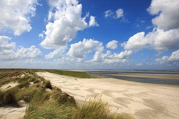 Groene strand van Anja Brouwer