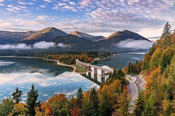 Sylvensteinsee in Bayern von Achim Thomae
