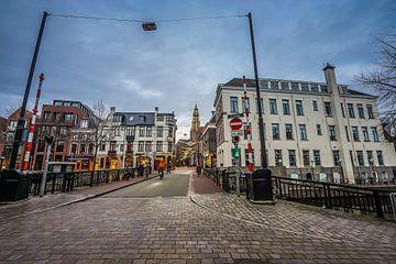 Brugstraat Groningen van Raymond Bos