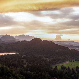 Hohenschwangau, Duitsland van Dave Verstappen