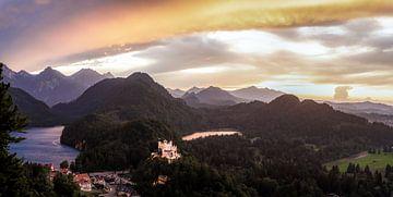 Hohenschwangau, Deutschland von Dave Verstappen