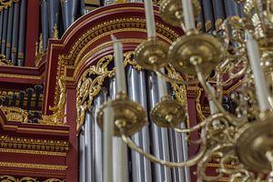 Detail-orgel - Laurenskerk, Rotterdam van