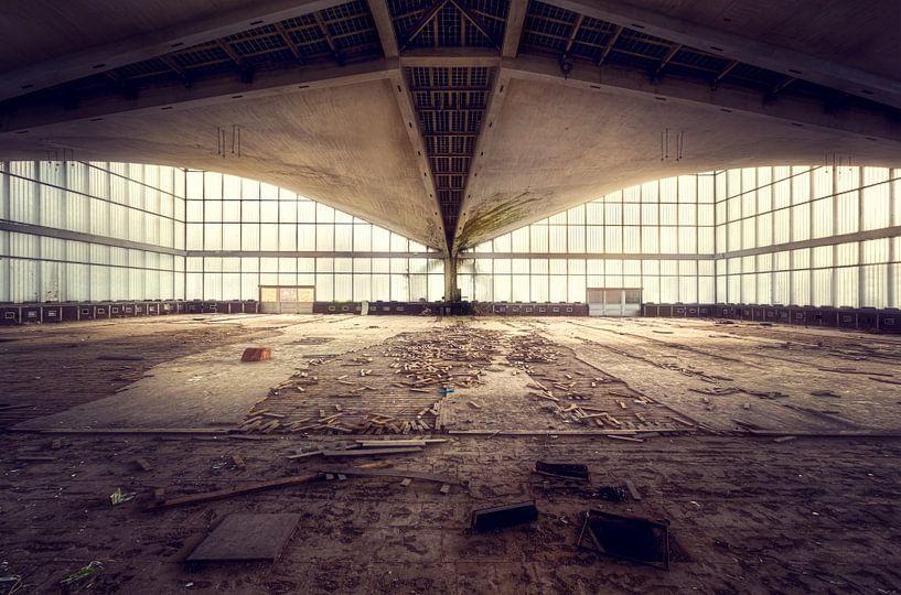Verlaten Gymzaal. van Roman Robroek