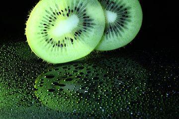 Gouttes de kiwi sur Herman Peters