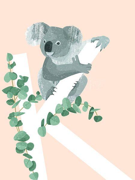 K - Koala von Goed Blauw