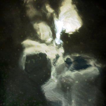 Kleine engel. Lichtspiegeling in het water van Anne Hana