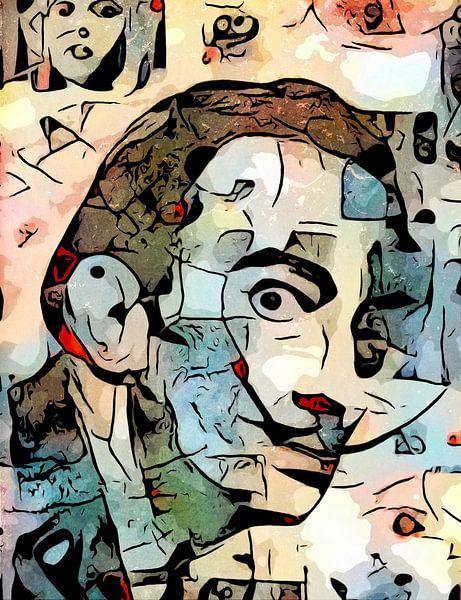 Het uitzicht (Salvador Dali) van zam art