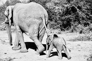 Moeder en kind sur Iduna vanwoerkom