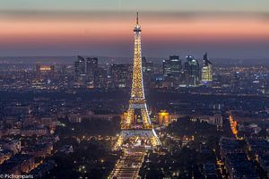 Tour Eiffel  van