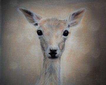 Baby hertje - bos dieren von Samantha Dekker