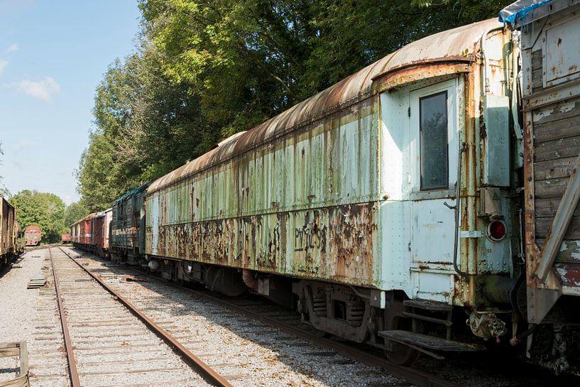 oud treinstel  van Compuinfoto .