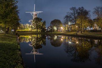 Molen de Valk in Leiden von Dirk van Egmond