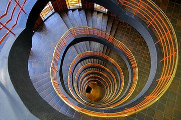 Treppenhaus Hamburg von Patrick Lohmüller
