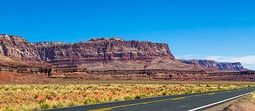 Vermillion Cliffs, Arizona van Peter Leenen