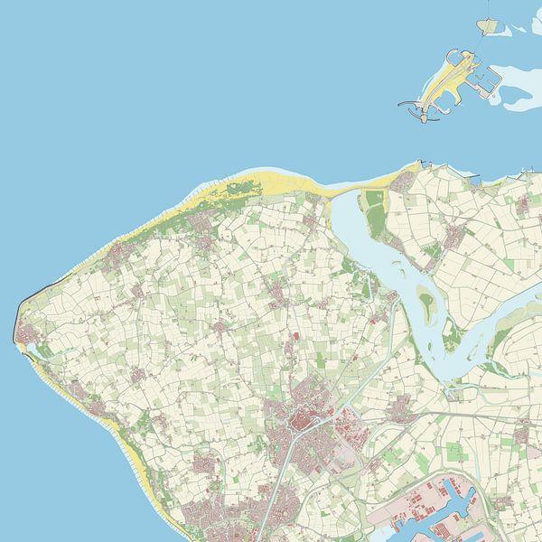 Kaart vanVeere