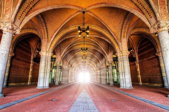 Rijksmuseum licht in de tunnel